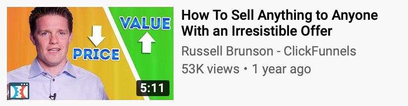 Russel Brunson Value