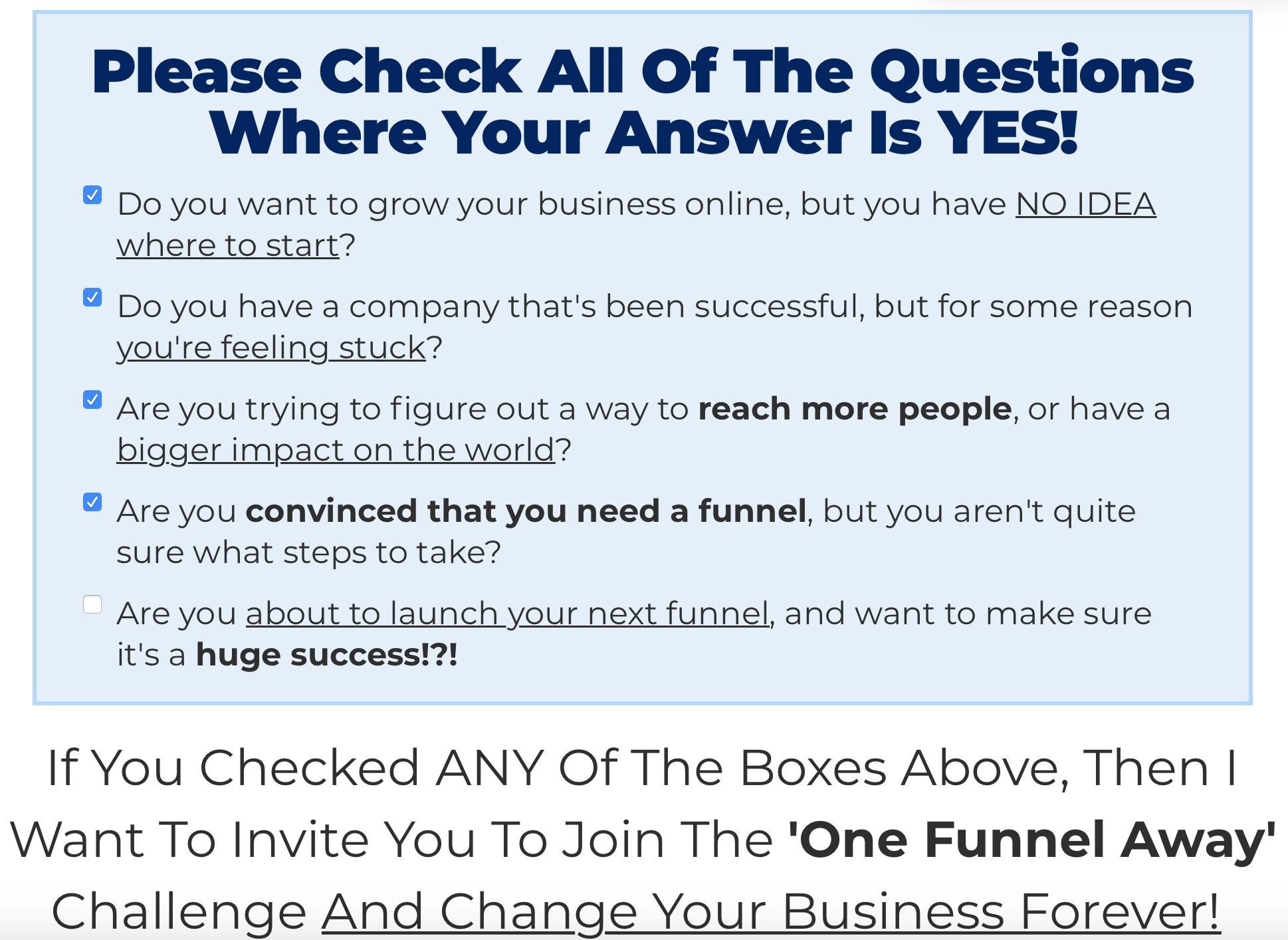 ofa questions