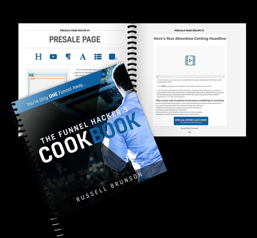 funnel hacker cookbook product